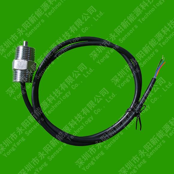 双向螺纹PT100热电阻温度传感器